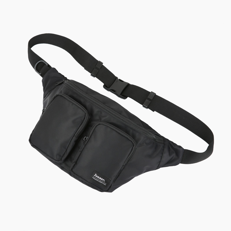 TWO WAIST BAG -BLACK-  (Z1TWOBK)